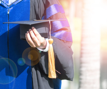 Masters and Ph.D. graduates